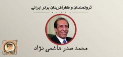 کارآفرین برتر ایرانی: محمد صدر هاشمی نژاد